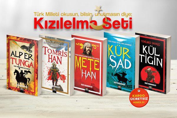 kitaptason, Gazi Karabulut, kızılelma seti, Mete Han, Tomris Han, Kül Tigin, Kür Şad, Alp Er Tunga
